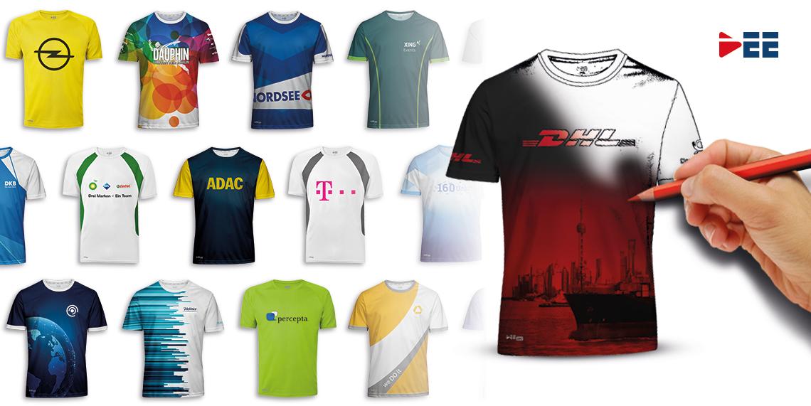 Kreative Firmenlauf-Shirts – DEE stattet Ihr Team aus!